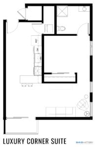 Luxury Corner Suite